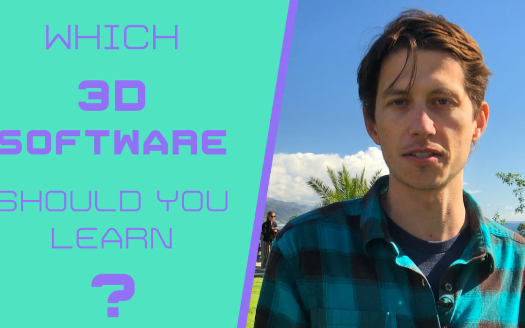 Which 3D Software Should You Learn?