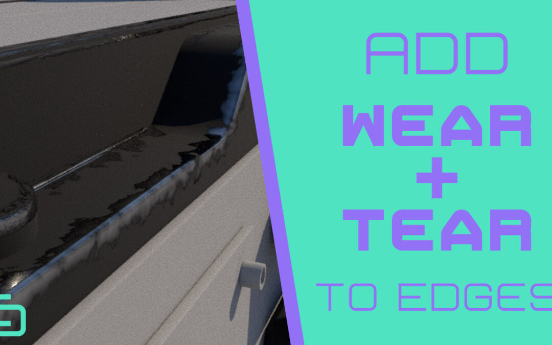 Add Wear and Tear Texture to Edges in Maya